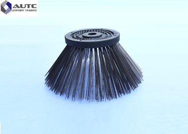 400*680mm Side Industrial Sweeping Brush , Power Sanitation Circular Street Cleaning Brushes