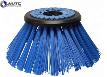 Gutter Brooms Street Sweeper Brush , Road Cleaning Brush Customized Filament