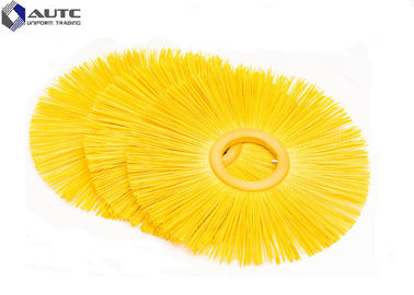 Flat Style Snow Sweeper Brush PP Fastening Nylon Wire Customized Size