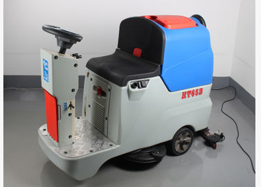 Double Brush Floor Sweeper And Scrubber 180 Rpm Brush Rotation Speed Iso9001